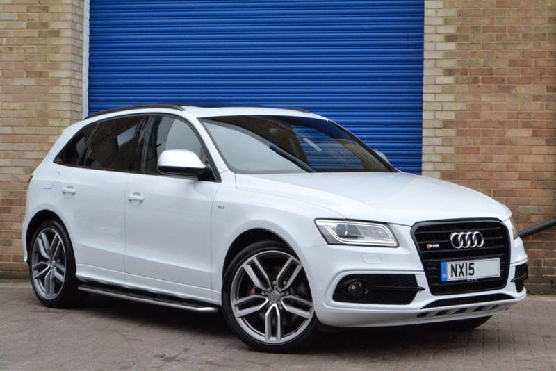 used Audi SQ5 BiTDI 313 quattro. Sunroof, 21s, Black Styling, B&O in buckinghamshire