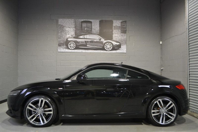 used Audi TT TFSI quattro S Line 230PS. Comfort & Sound, Navigation plus in buckinghamshire