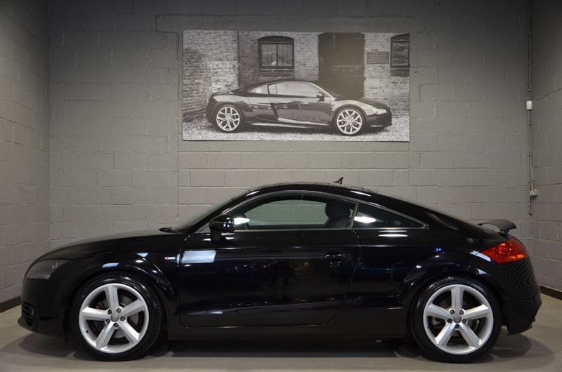 used Audi TT TFSI quattro S Line S Tronic.  Bose, Bluetooth, Leather in buckinghamshire