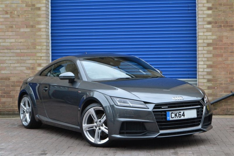 used Audi TT TFSI quattro S Line 230PS. Comfort & Sound pack, Nav+, Supersport seats in buckinghamshire